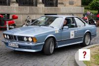 1977 BMW 630 CS (front view)
