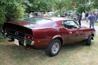 1973 Ford Mustang Mach 1 Fastback Coupe (rear view)