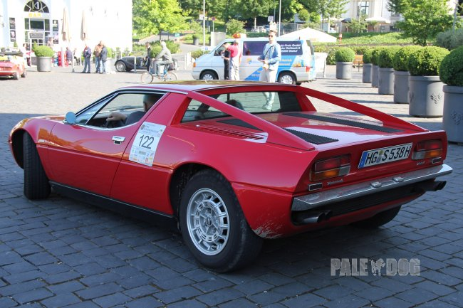 1975 Maserati Merak (rear view)