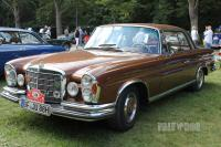 1971 Mercedes-Benz 280 SE 3.5 Coupé (front view)