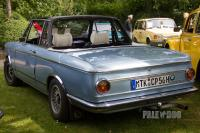 1972 BMW 2002 Baur-Cabriolet (rear view)