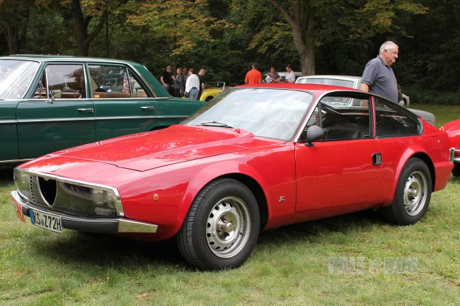 1972 Alfa Romeo Junior Zagato GT 1600 (front view)