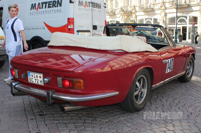 1974 Jensen Interceptor III Convertible (rear view)