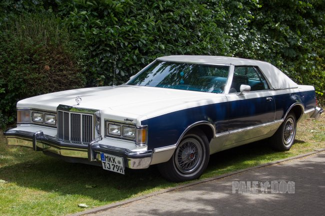 1979 Mercury Cougar XR7 Convertible Coupe (front view)