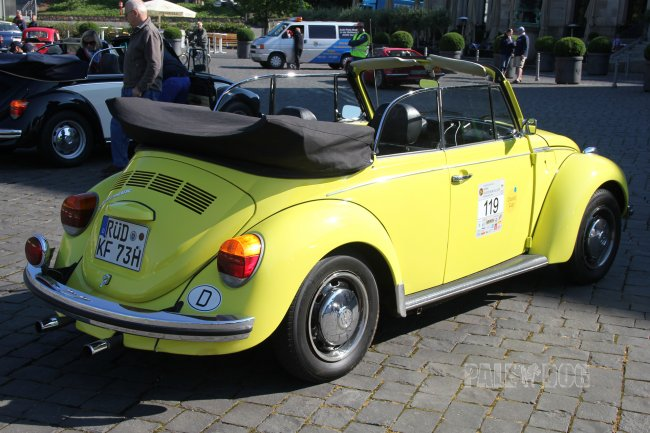 1973 VW 1303 LS Cabriolet (rear view)