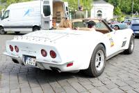 1972 Chevrolet Corvette Stingray Convertible Coupe (rear view)