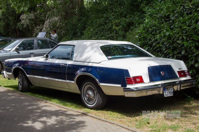 1979 Mercury Cougar XR7 Convertible Coupe (rear view)