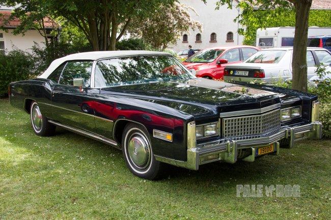 1975 Cadillac Eldorado Convertible (front view)   1970s