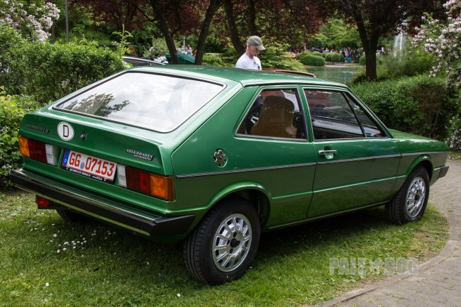 1974 VW Scirocco LS (rear view)