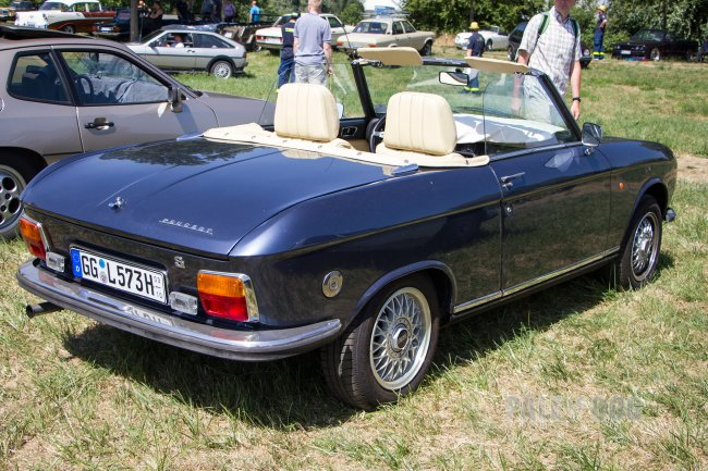 1973 Peugeot 304 Cabriolet S (rear view)