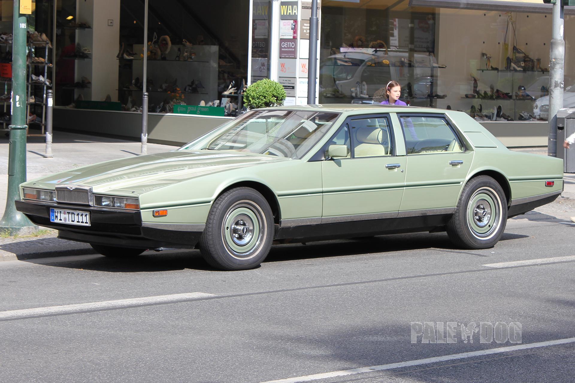 1983 Aston Martin Lagonda Front View 1980s Paledog Photo Collection