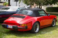 1986 Porsche 911 Carrera Cabriolet (rear view)