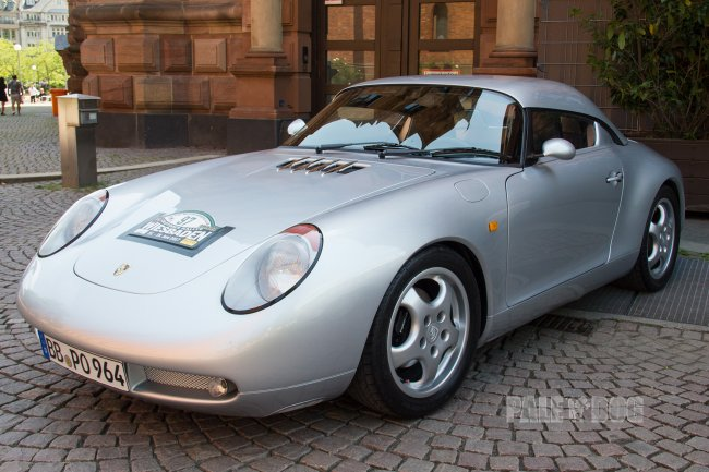 1992 Porsche 911 Carrera 4 Roadster 'R64' by Burst (front view with hardtop)