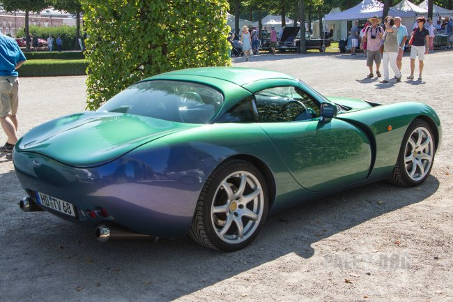 2000 TVR Tuscan Speed Six (rear view)