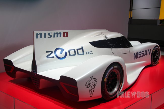 2013 Nissan ZEOD RC (rear view)
