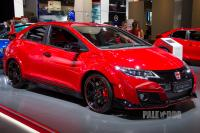 2015 Honda Civic Type R (front view)