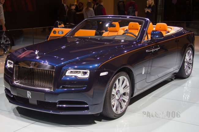 2015 Rolls-Royce Dawn (front view)