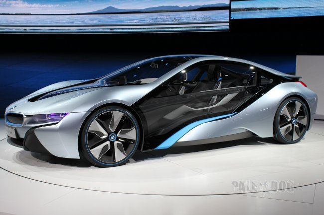 2011 Bmw I8 Concept Front View 2010s Paledog Photo Collection