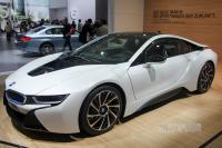2013 BMW i8 (front view)