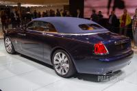 2015 Rolls-Royce Dawn (rear view)
