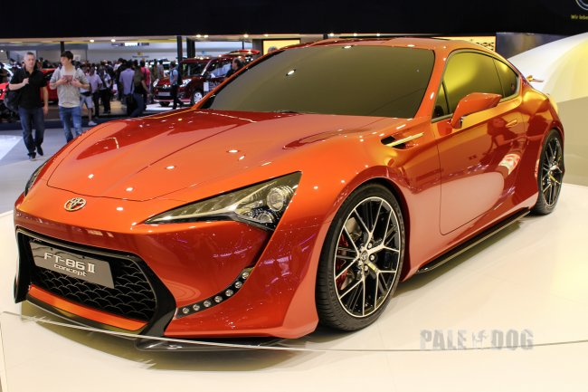 2011 Toyota FT 86 II Concept (front view)