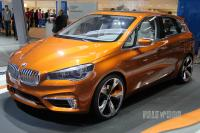 2013 BMW Active Tourer Outdoor (front view)