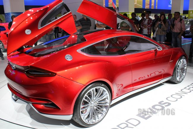 2011 Ford Evos Concept (rear view)