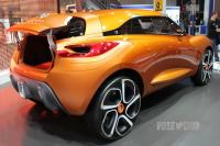 2011 Renault Captur Concept (rear view)