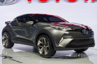 2015 Toyota C-HR Concept (front view)