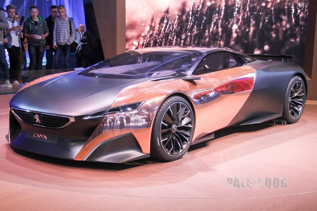 2012 Peugeot Onyx (front view)