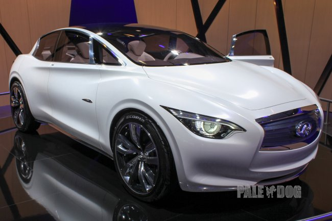 2011 Infiniti Etherea Concept (front view)