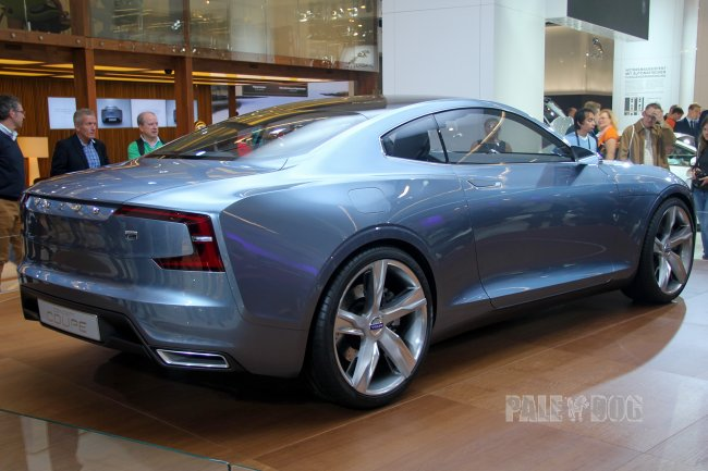 2013 Volvo Concept Coupé (rear view)
