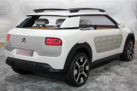 2013 Citroën Cactus Concept (rear view)