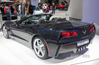 2013 Chevrolet Corvette Sitngray Convertible (rear view)