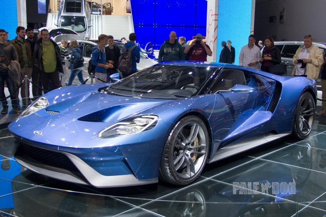 2015 Ford GT Concept (front view)