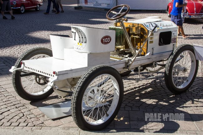 1903 Opel 12 PS Rennwagen (rear view)