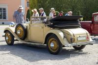 1933 Stoewer R140 Luxus Sportcabriolet (rear view)