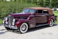 1938 Cadillac Series 75 Convertible Sedan (front view)