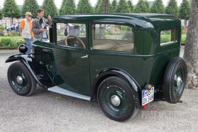 1934 BMW 3/20 PS AM 4 (rear view)   Post Vintage   Paledog Photo Collection