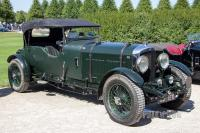 1931 Bentley 8 Litre Sports Tourer (front view)
