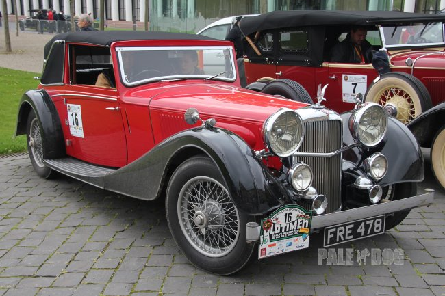 1937 Alvis Speed 25 SB Charlesworth-Drophead Coupé (front view)