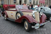 1933 Horch 830 Sport Cabriolet (front view)