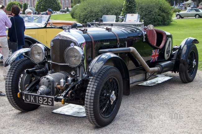 1931 Bentley 4½ Litre Supercharged Le-Mans (front view)