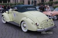1936 Packard Eight 1401 Coupe Roadster (rear view)