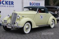 1936 Packard Eight 1401 Coupe Roadster (front view)