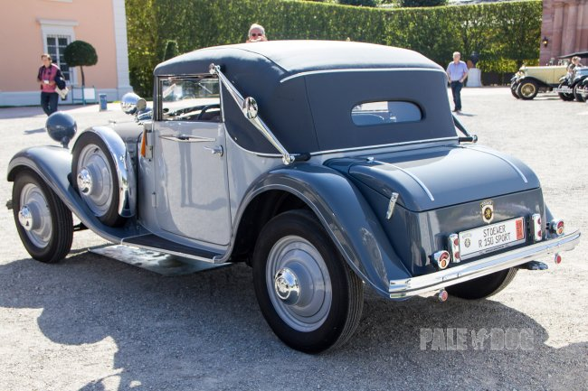 1934 Stoewer R150 Sport Cabriolet (rear view)