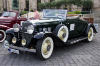 1931 Cadillac Eight Series 355-A Fleetwood Convertible Coupe (front view)