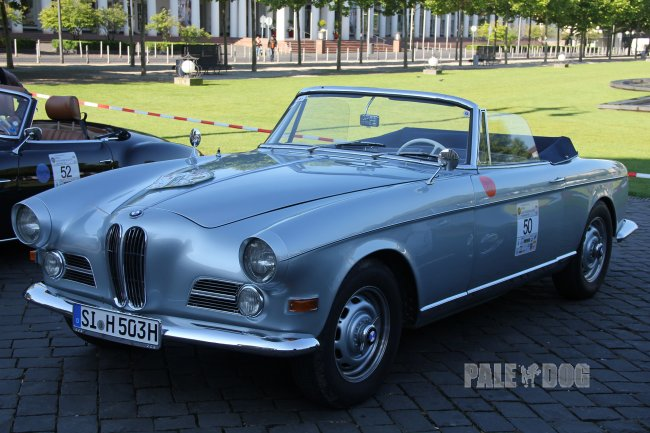 1958 BMW 503 Cabriolet (front view)