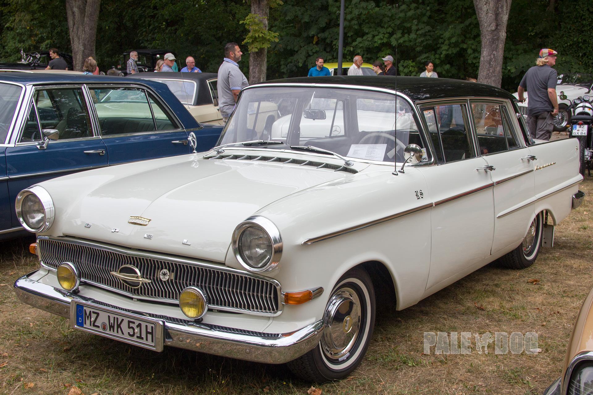 1959 Opel Kapitan P 2 6 L Front Post War Paledog Fotosammlung