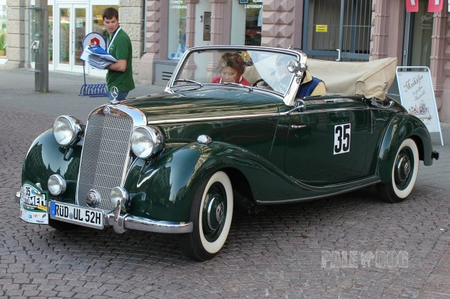 1951 Mercedes-Benz 170 S Cabriolet A (front view)